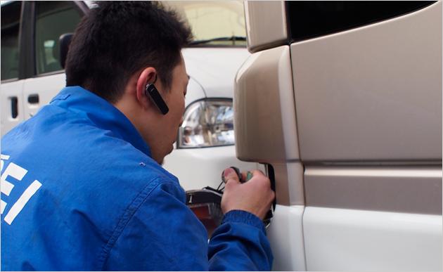 介護施設・病院関係・会社の事業用の車を扱う