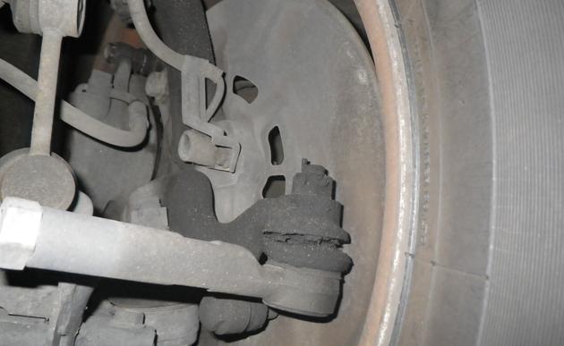 福祉車両・介護車両の故障部位ブレーキパッド